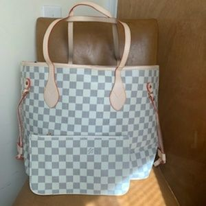Louis Vuitton Neverfull MM Tote Handbag Purse bag